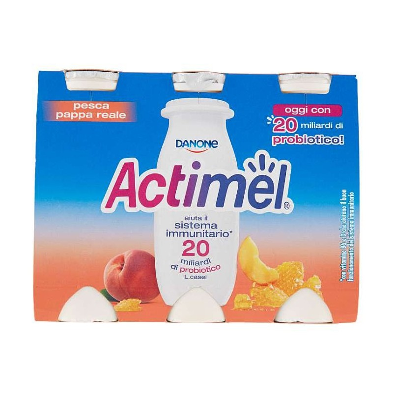 Actimel pesca - pappa reale...